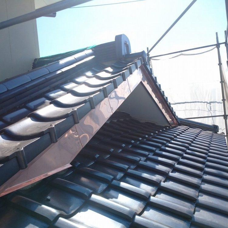 かすみがうら市,破風板銅板金工事