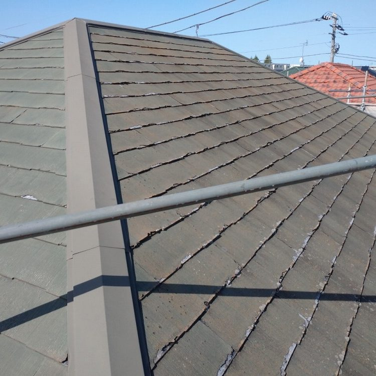 かすみがうら市,平葺き屋根/改修工事